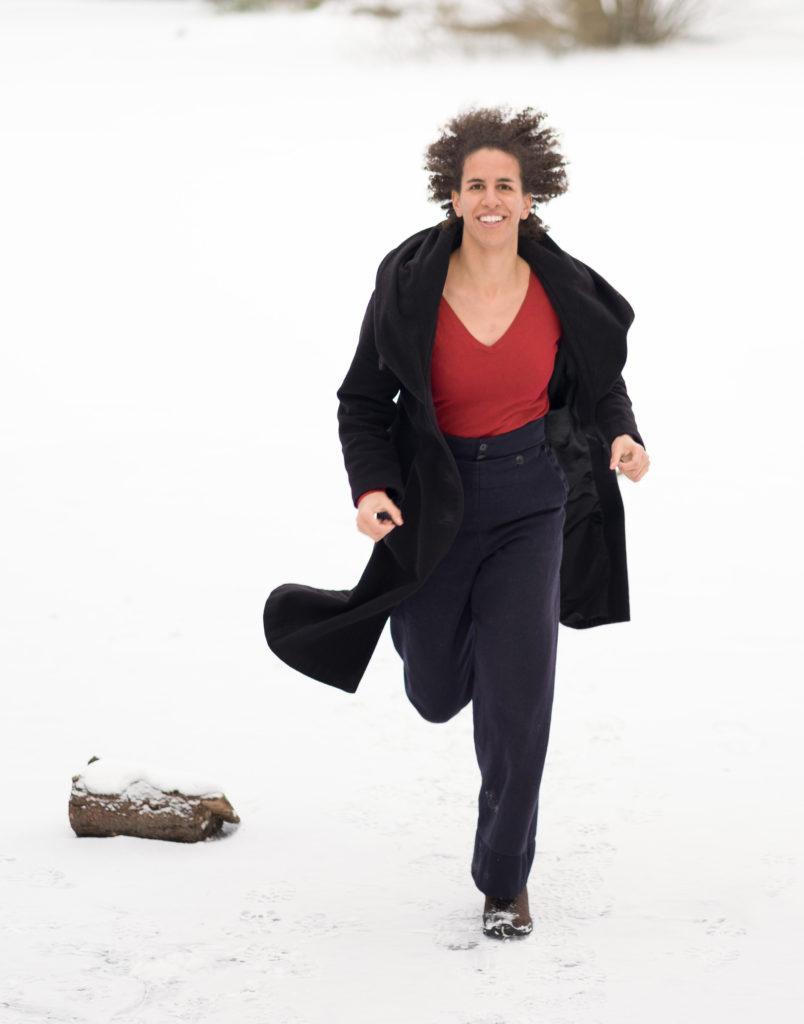 Julie løber dig til undsætning