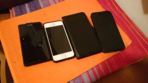 Slukkede telefoner off grid